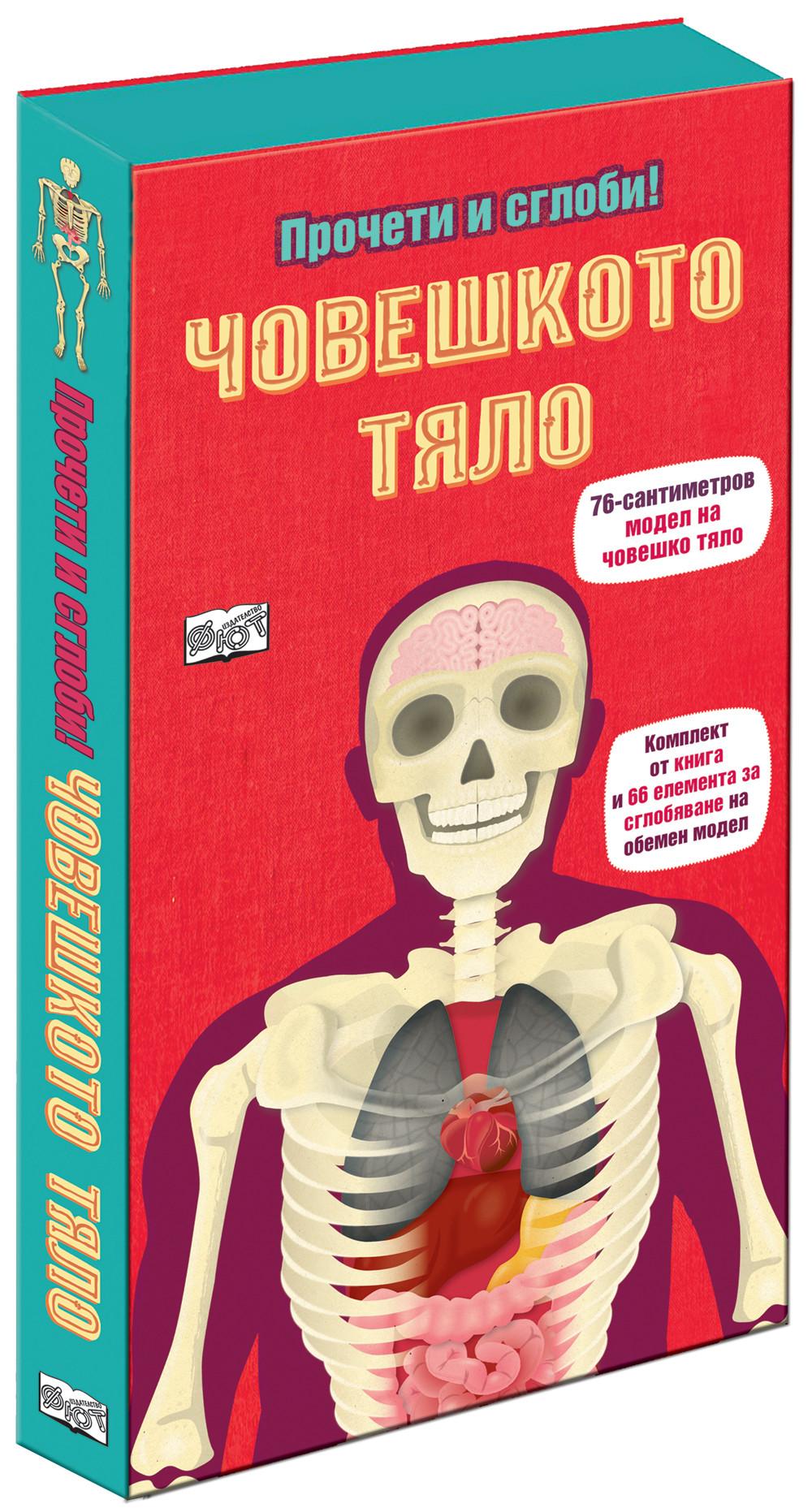 Човешкото тяло - прочети и сглоби!